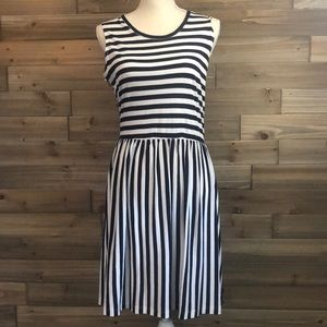 French Connection Striped T shirt Dress Size 10